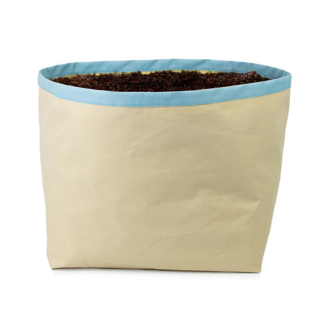 Architec  HGG 收割吧!栽種袋 (多用途)-淺亞麻/天藍色