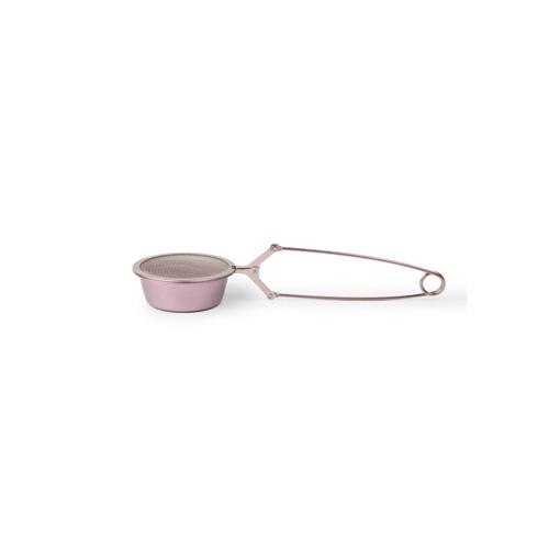 Architec| TSP 不鏽鋼迷你烘焙麵粉過篩網-8寸金屬粉紅
