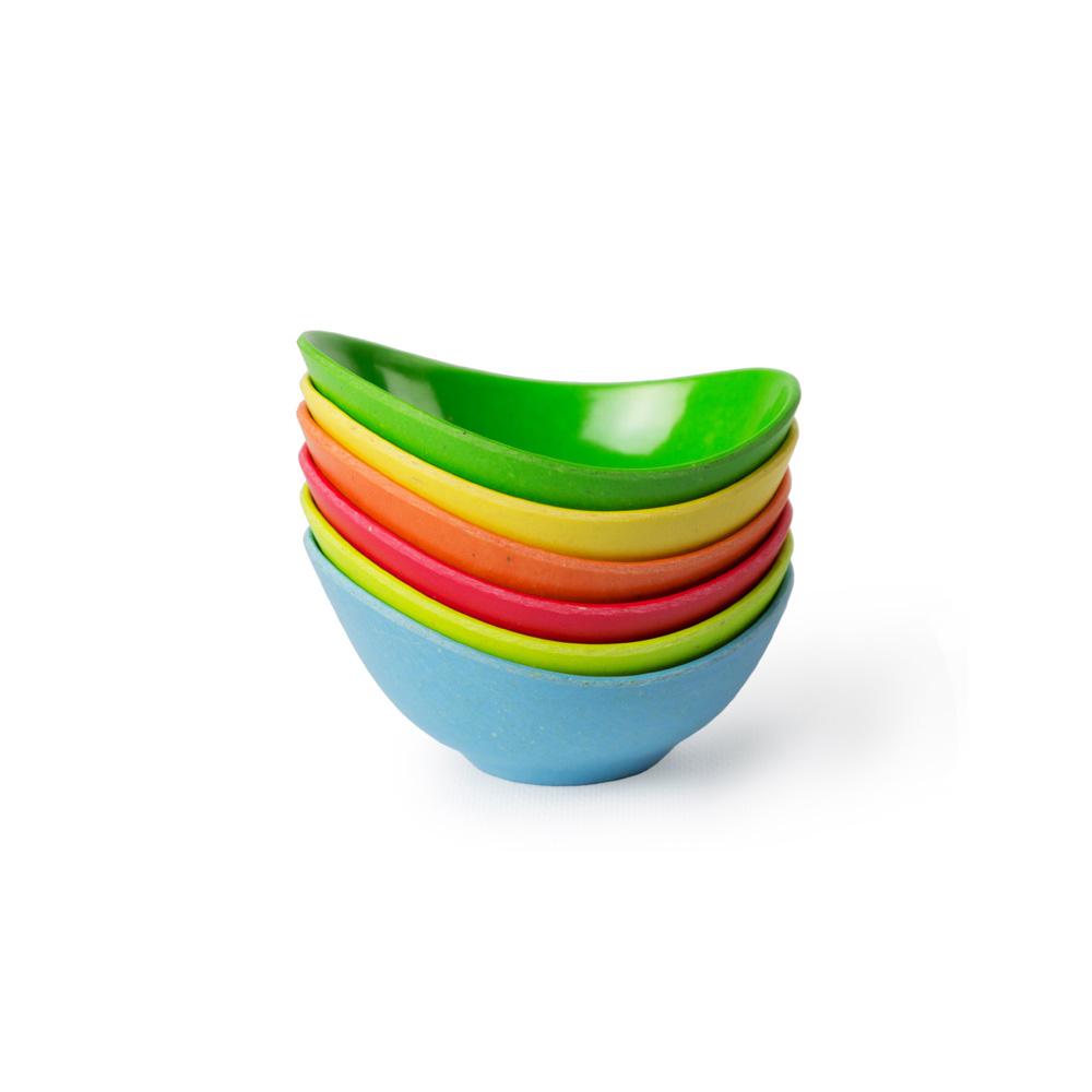 Architec| Ecosmart 迷你料理彩色醬料調味碟-6件組彩色
