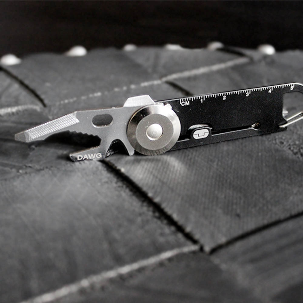 TRUE UTILITY l 英國多功能14合1鑰匙圈工具組DAWG