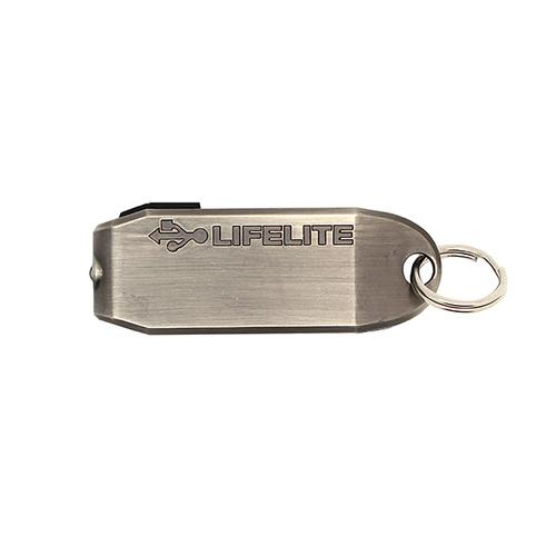 TRUE UTILITY l 英國多功能USB迷你LED手電筒鑰匙圈LifeLite
