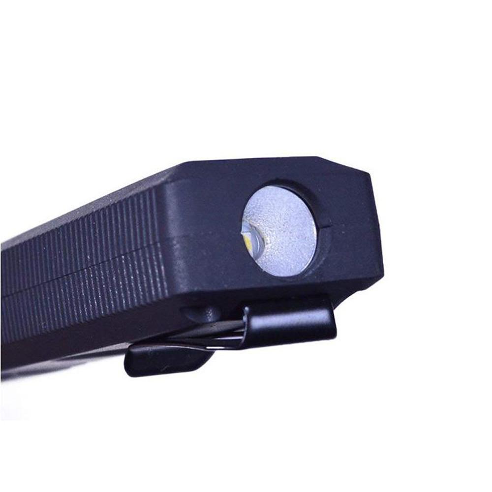 NEBO   Larry Tilt任意傾斜COB LED手電筒-經典黑