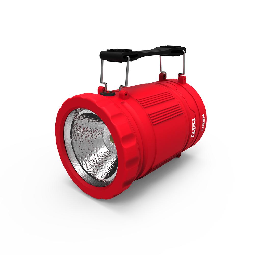 NEBO | Poppy 手電筒兩用提燈-紅
