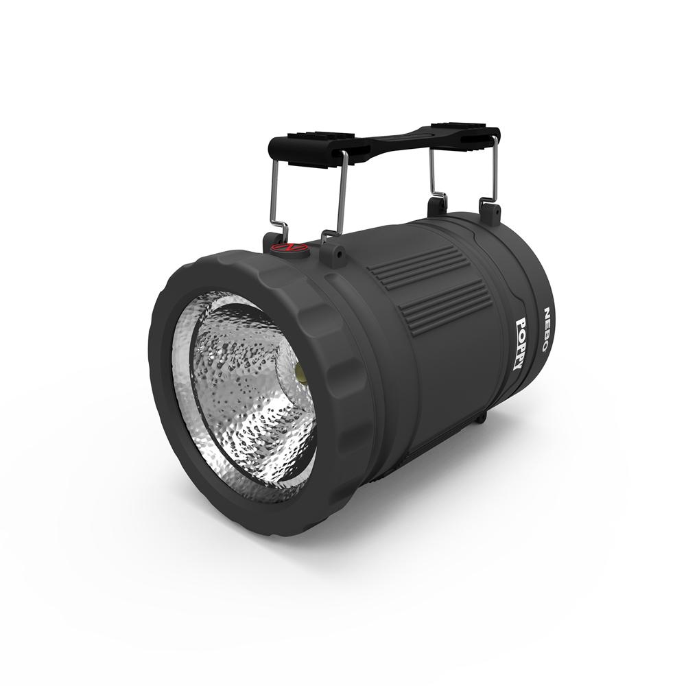NEBO | Poppy 手電筒兩用提燈-深灰