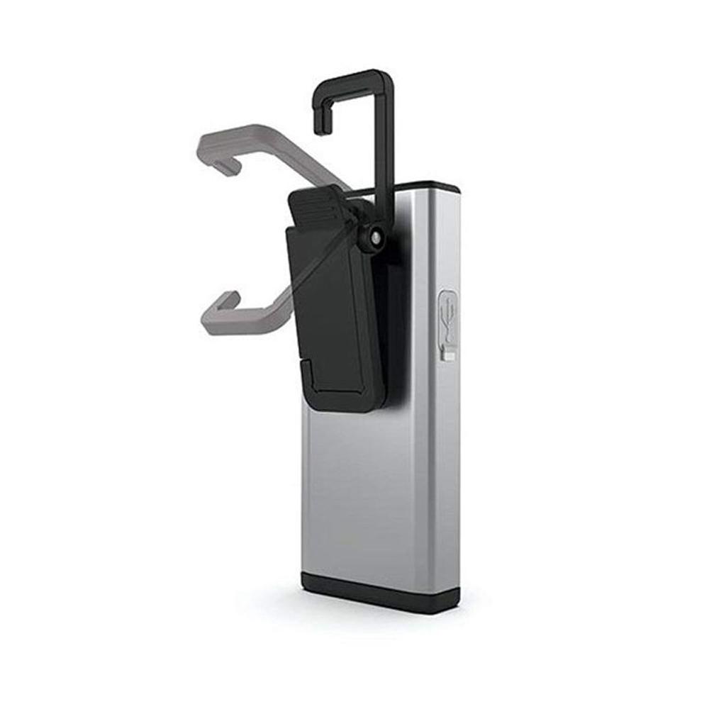 NEBO | SLIM 超薄型充電可調光LED燈-鉑金銀