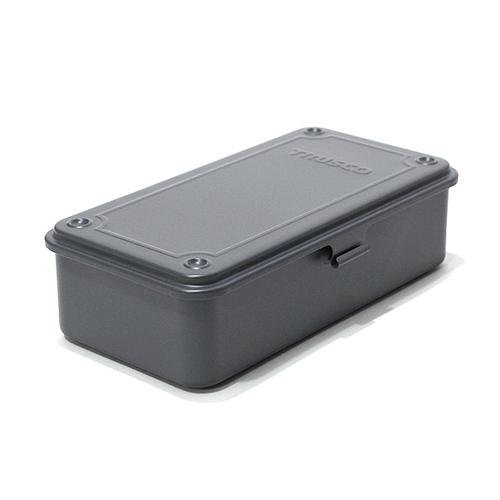 Trusco|上掀式收納盒(大)-迷霧軍裝灰