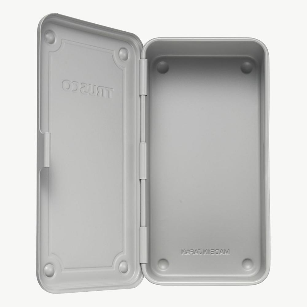 Trusco|上掀式收納盒(大)-迷霧淺灰綠
