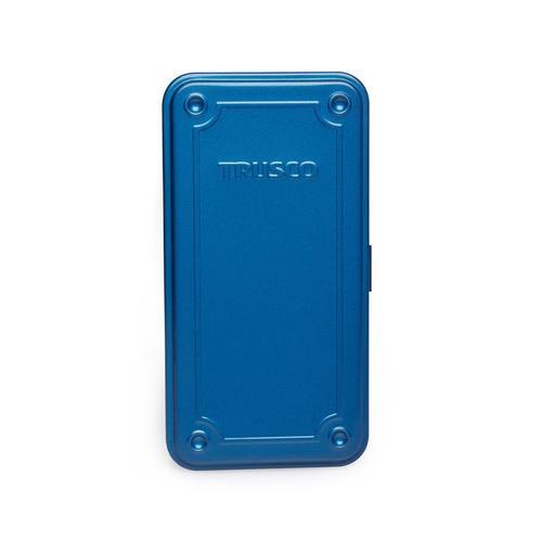 Trusco|上掀式收納盒(大)-鐵藍