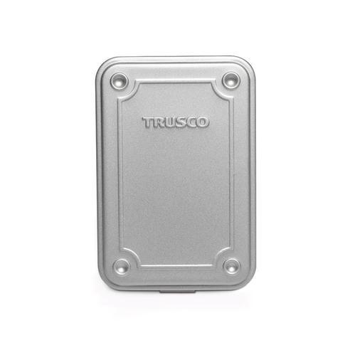 Trusco 上掀式收納盒(小)-槍銀