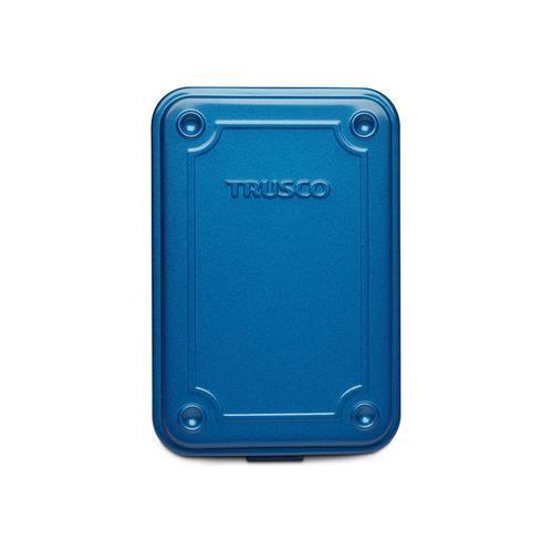 Trusco|上掀式收納盒(小)-鐵藍