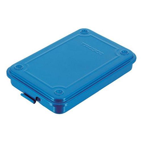Trusco|上掀式收納盒(薄型)-鐵藍