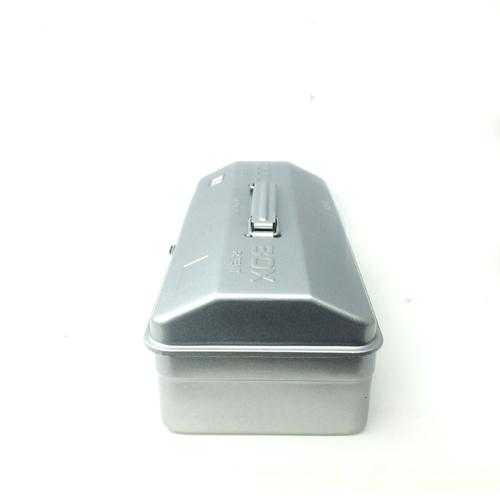 Trusco|山型單層工具箱-槍銀