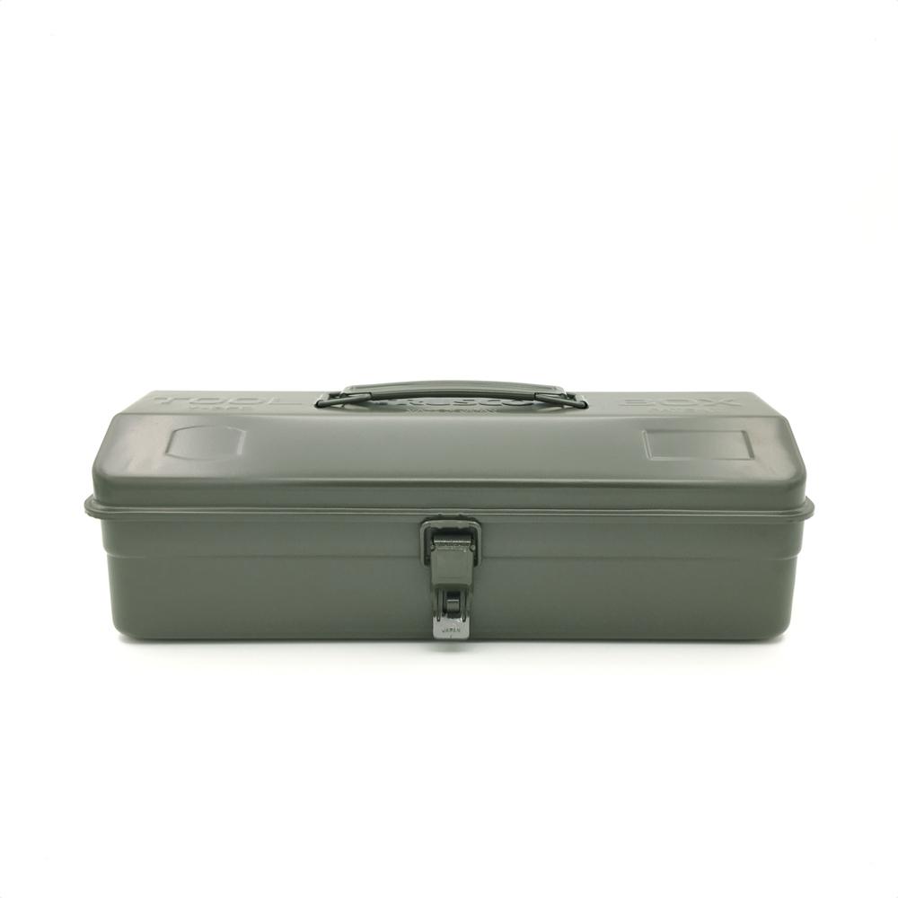 Trusco|山型單層工具箱-墨綠