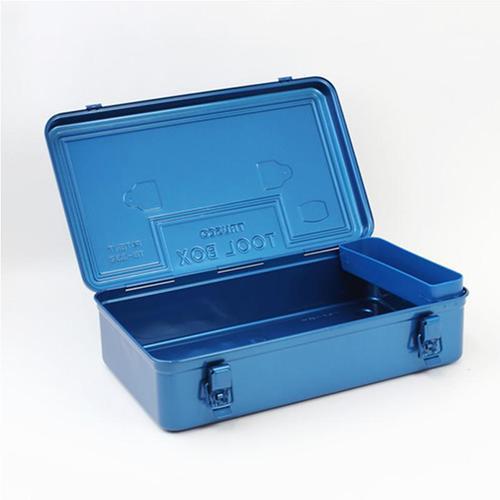 Trusco|後備型工具箱(上提把)-鐵藍