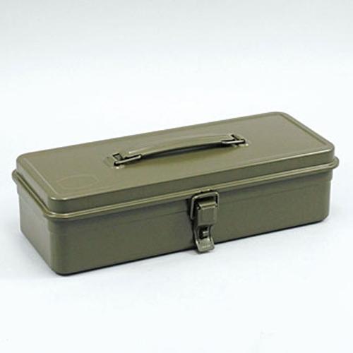 Trusco|經典單層工具箱(中)墨綠