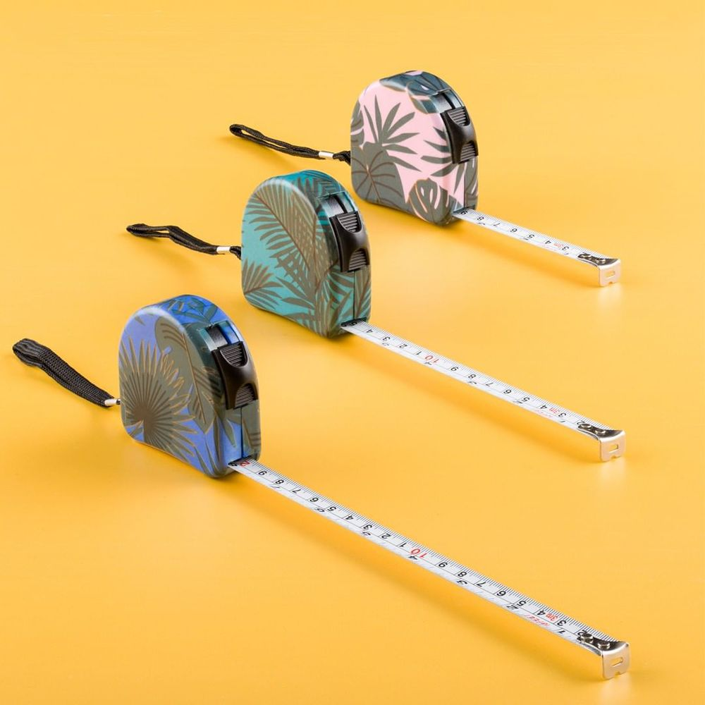 Pretty Useful Tools 熱帶叢林系列 隨身捲尺 3M - 天堂粉