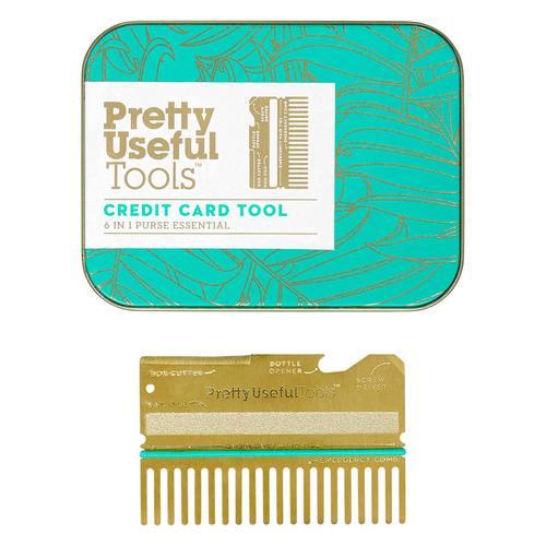Pretty Useful Tools|薄型6合1卡片式多用途工具組