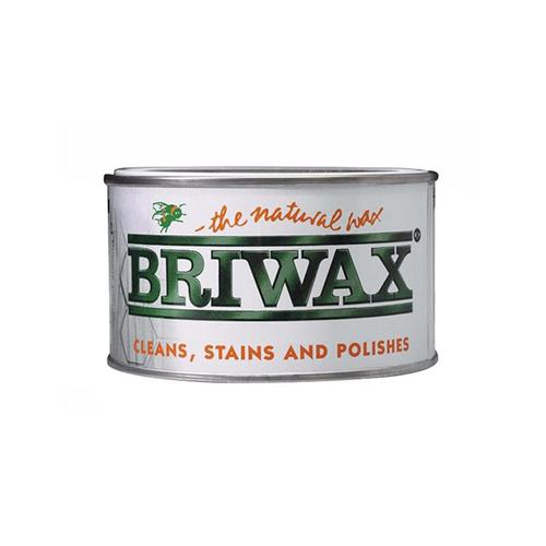 Briwax|拋光上色蠟 - 核桃木色 370g