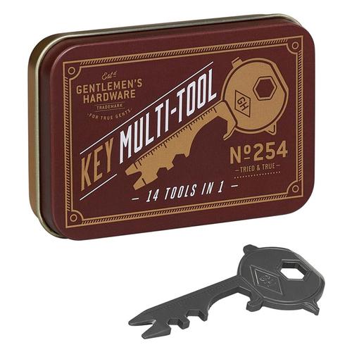 Gentlemen's Hardware 14合1多功能鑰匙隨身工具組