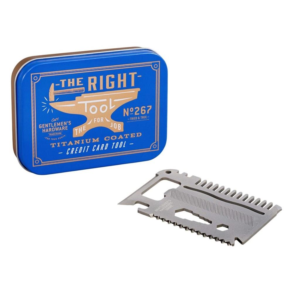 Gentlemen's Hardware|卡片式多用途工具組-鈦金屬