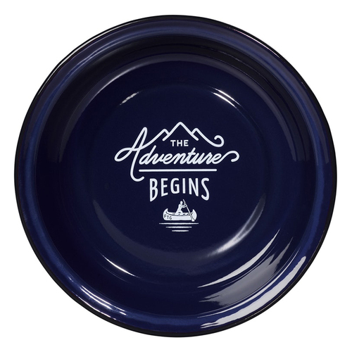 Gentlemen's Hardware 戶外琺瑯餐盤-紳士藍