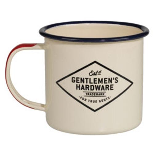 Gentlemen's Hardware|戶外用琺瑯杯-經典米白