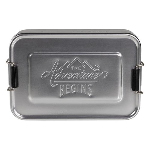 Gentlemen's Hardware|掀蓋式多功能點心盒/收納盒-銀色