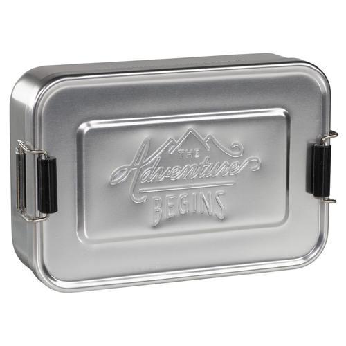 Gentlemen's Hardware 掀蓋式多功能點心盒/收納盒-銀色