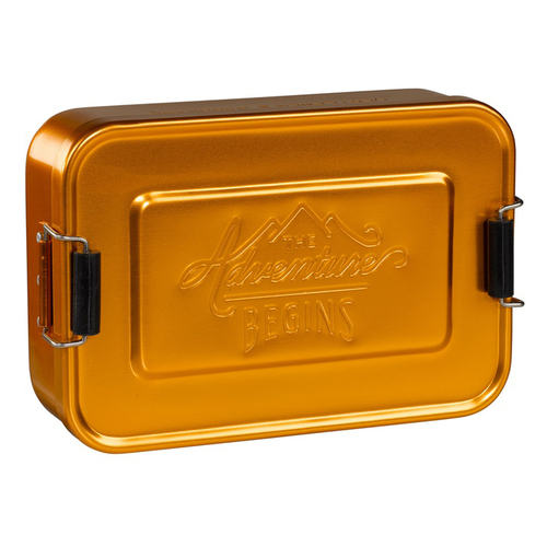 Gentlemen's Hardware|掀蓋式多功能點心盒/收納盒-金銅色