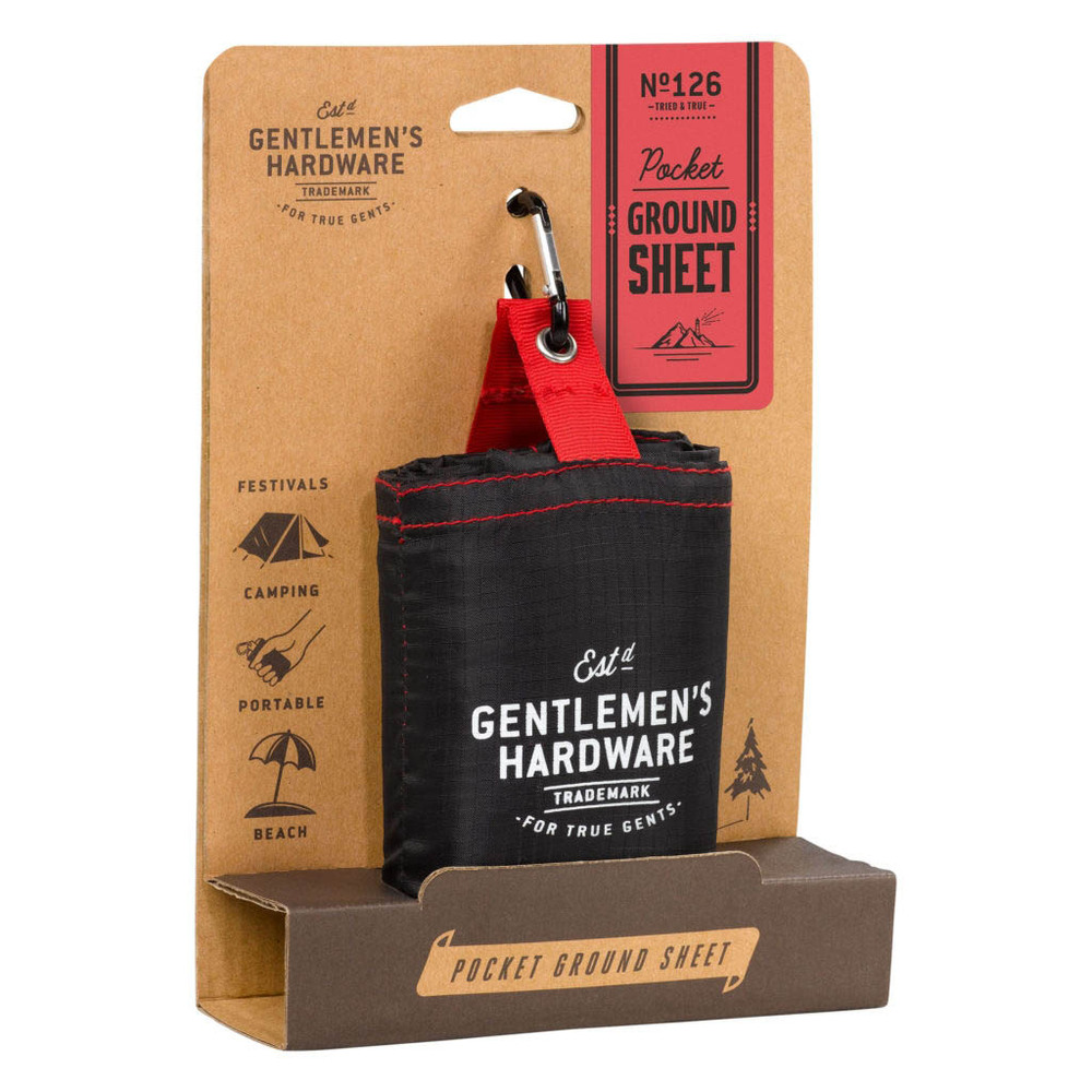 Gentlemen's Hardware|隨身戶外防水防潮耐用地墊