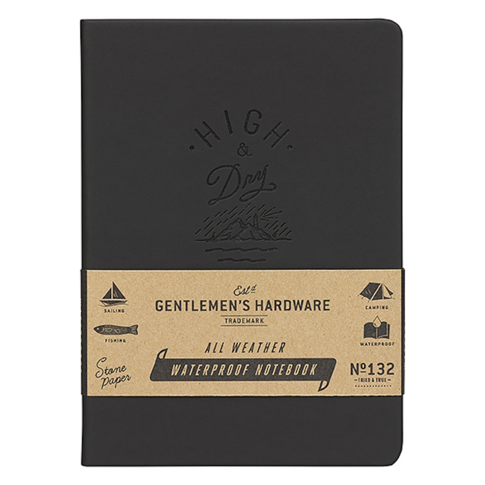 Gentlemen's Hardware|專業用戶外防水用記事本