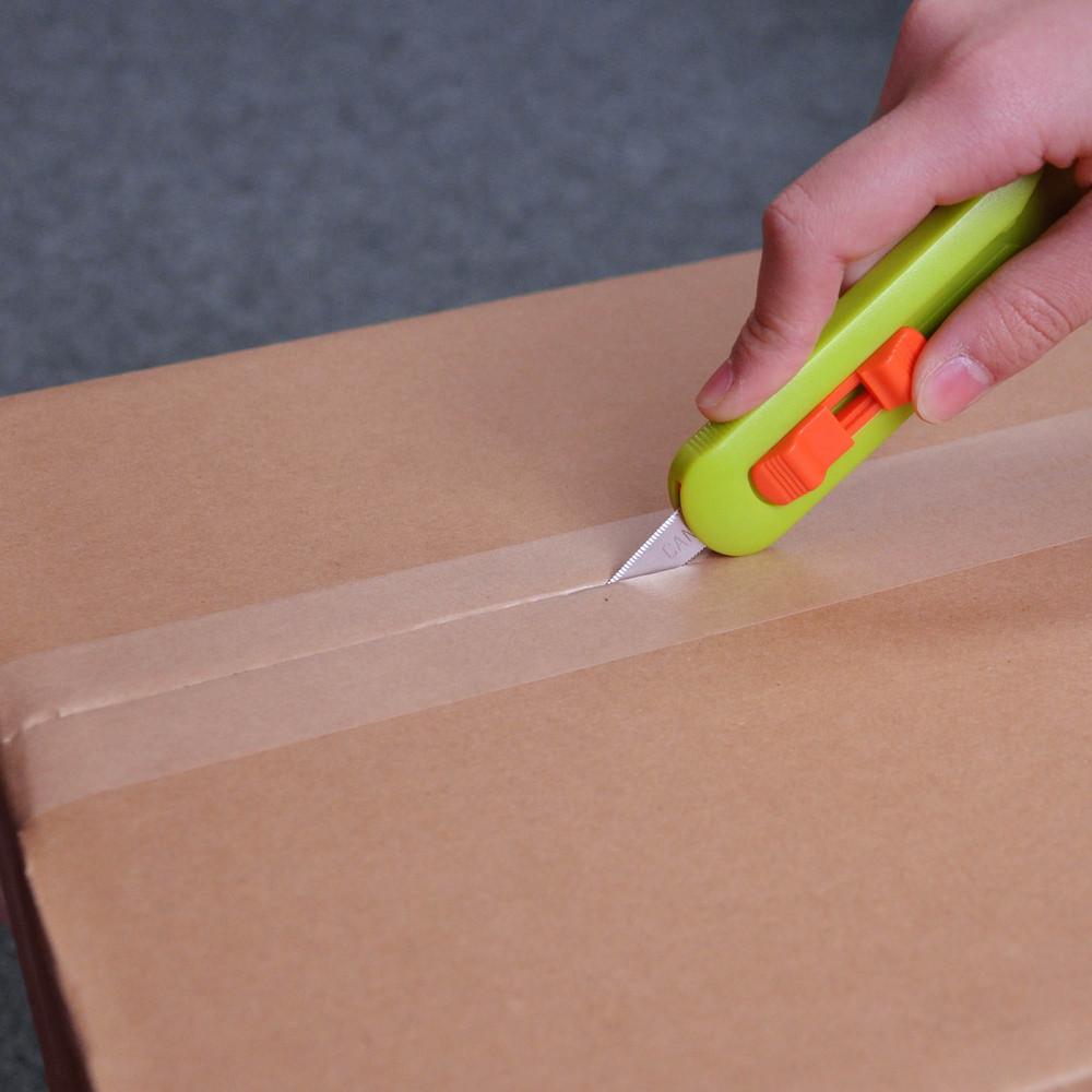 日本CANARY|物流君紙箱切刀-蘋果綠