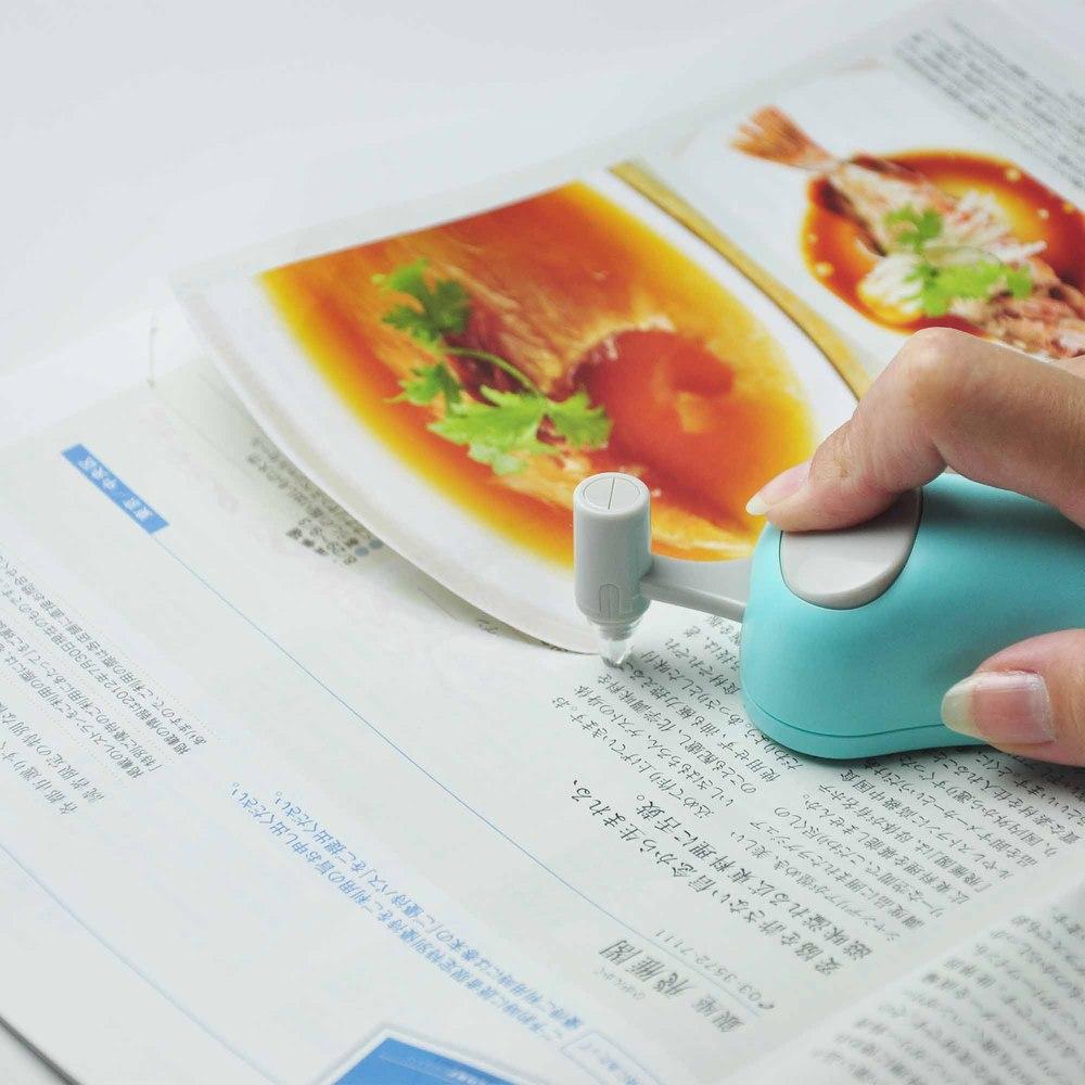 日本CANARY HARAC系列-Line紙裁剪刀-藍