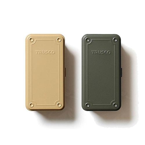 Trusco│ 限定組合-限量款上掀式收納盒(大) -迷霧淺灰綠+迷霧暖沙色