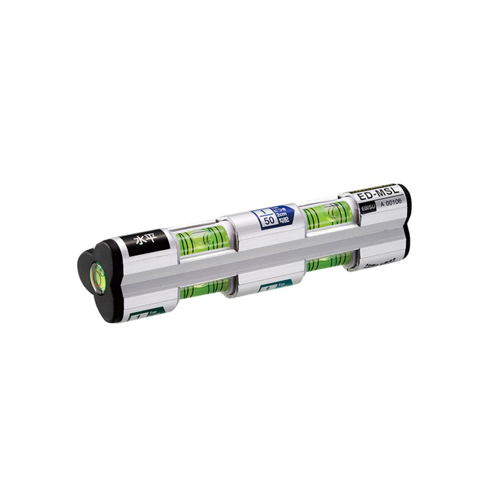 Ebisu Diamond|Pro-work系列-排水流向水平儀 -3管多泡