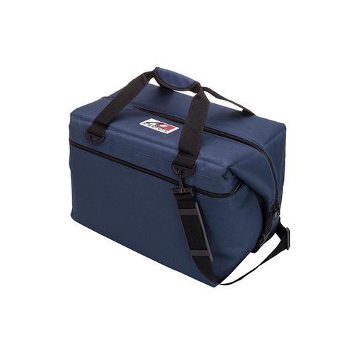 AO COOLERS|酷冷軟式輕量保冷托特包-48罐型 -經典帆布CANVAS系列 海軍藍