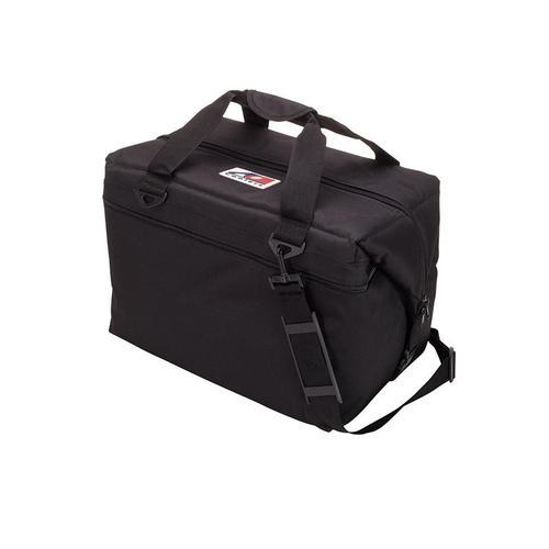 AO COOLERS|酷冷軟式輕量保冷托特包-48罐型 -經典帆布CANVAS系列 經典黑