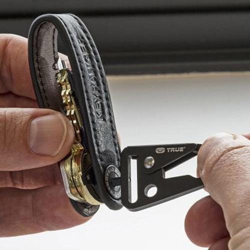 TRUE UTILITY|英國多功能皮革鑰匙圈工具扣環Keyranger