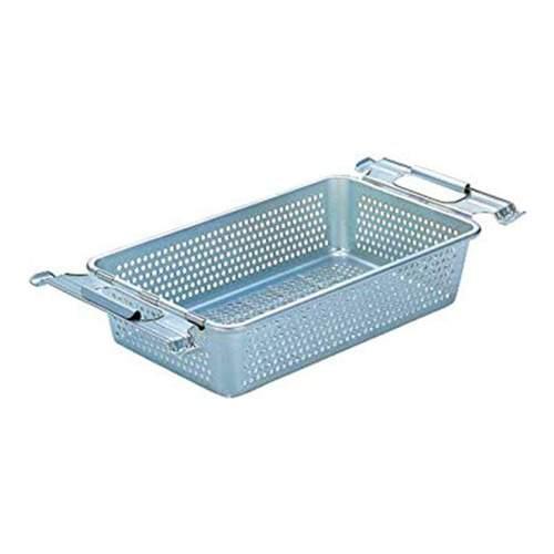 Trusco│ 工業風網狀附把手鍍鋅收納盒(小)