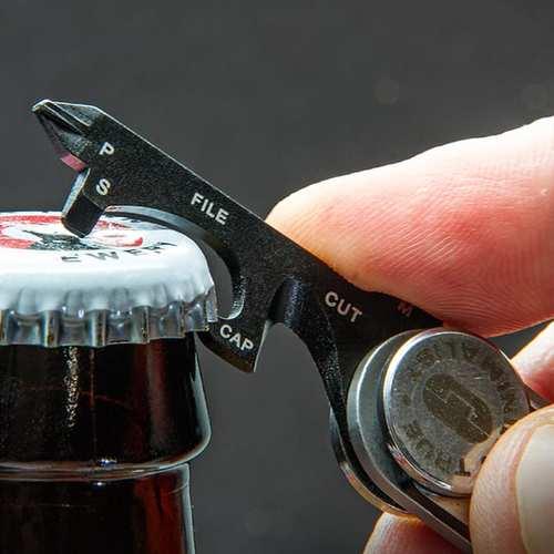 TRUE UTILITY|英國多功能8合1刀片工具鑰匙圈Minimalist