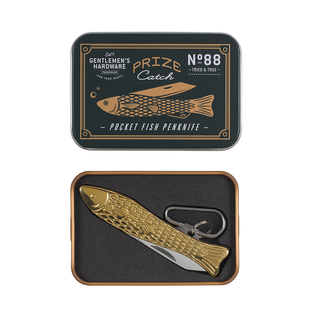 Gentlemen's Hardware|經典摺疊魚刀