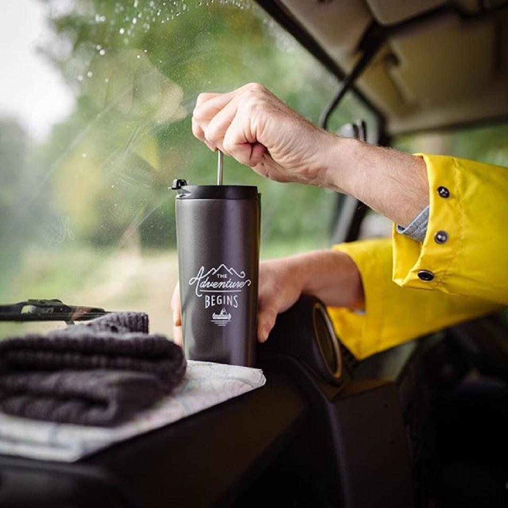Gentlemen's Hardware|極簡咖啡隨身保溫濾壓壺
