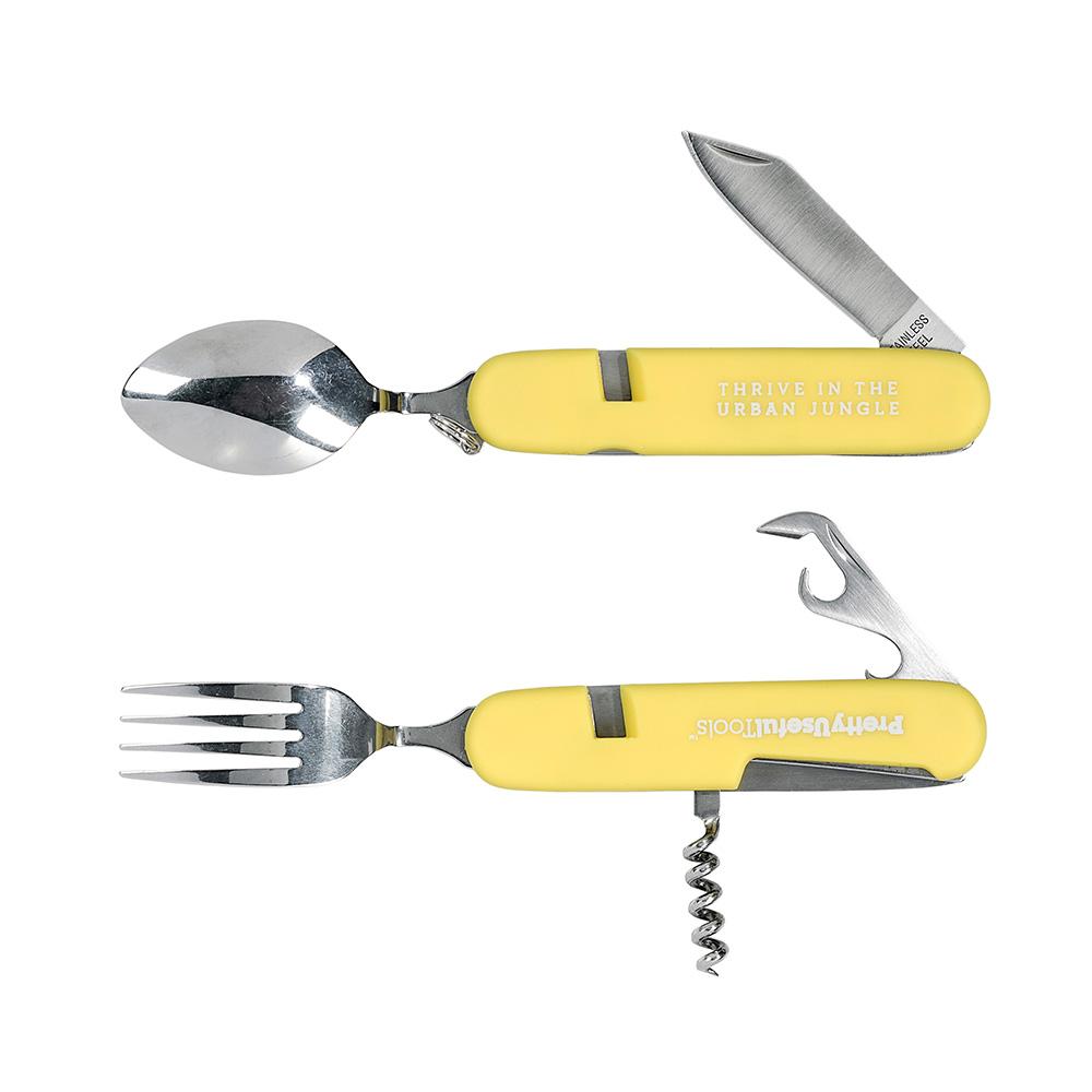 Pretty Useful Tools 戶外露營刀叉多功能工具組