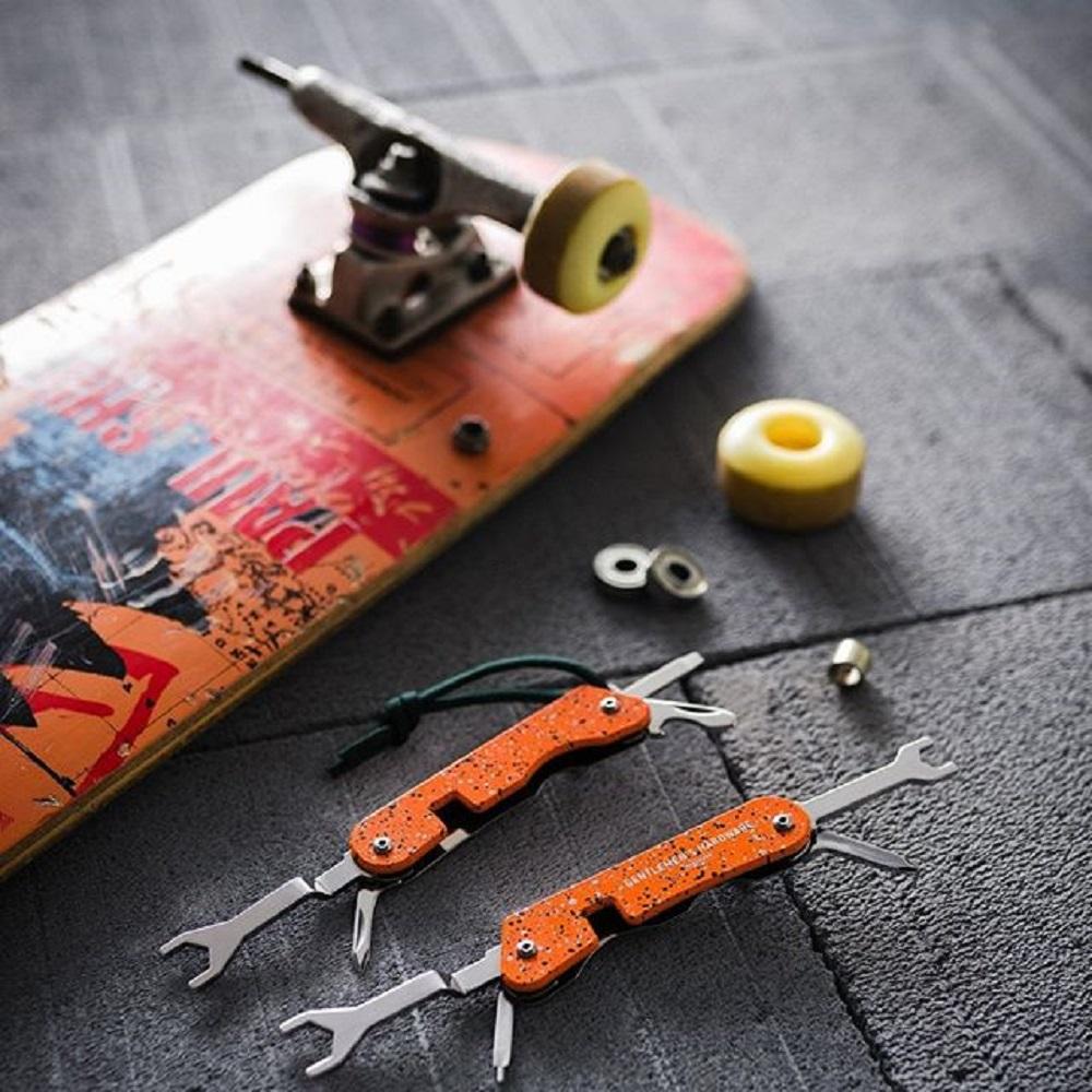 Gentlemen's Hardware 極限運動隨身多功能工具組-迷彩綻放橘