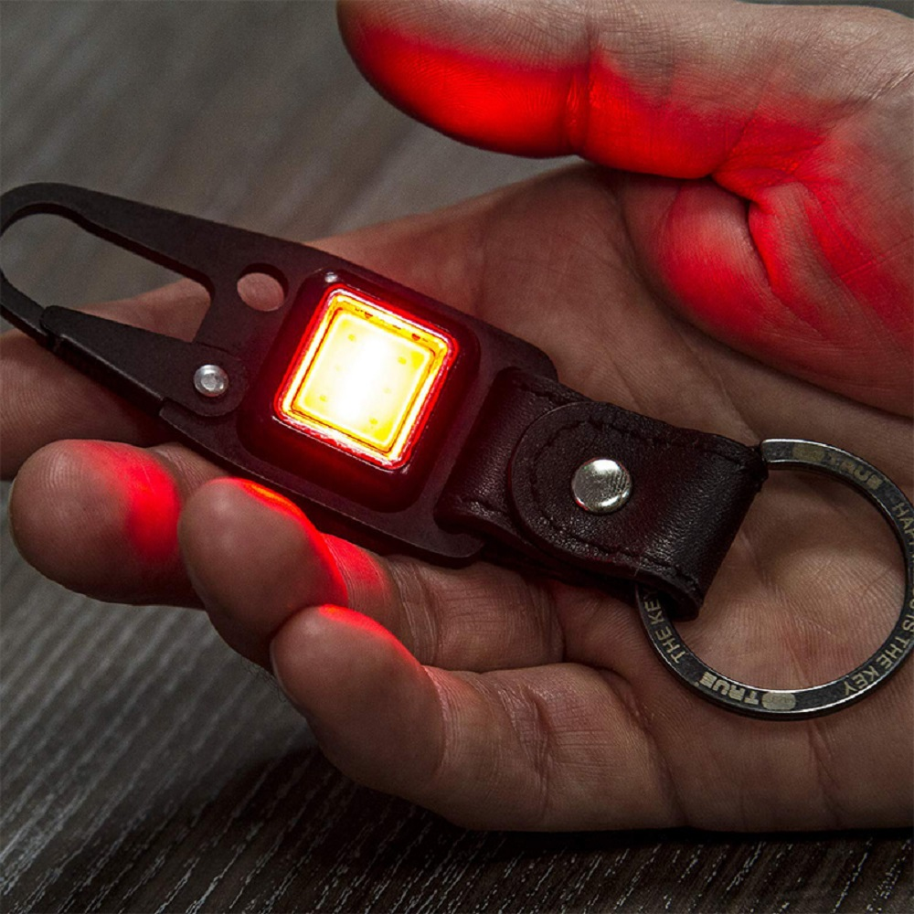TRUE UTILITY|英國多功能充電型LED鈕扣燈鑰匙圈CLIPLITE