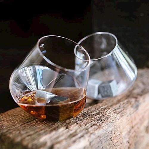 Gentlemen's Hardware|威士忌搖滾造型玻璃酒杯組-兩入組