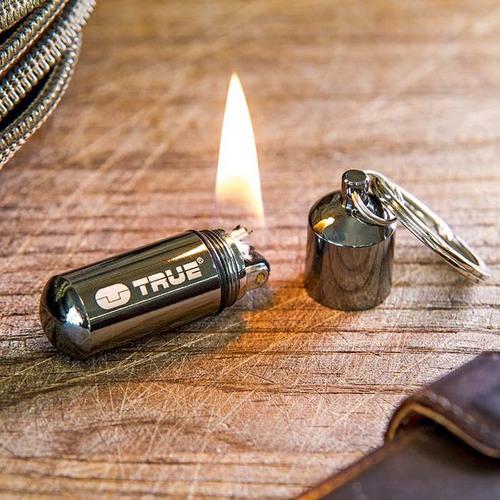 TRUE UTILITY|英國多功能防水輕巧打火機鑰匙圈FireStash-吊卡版(TU262K)