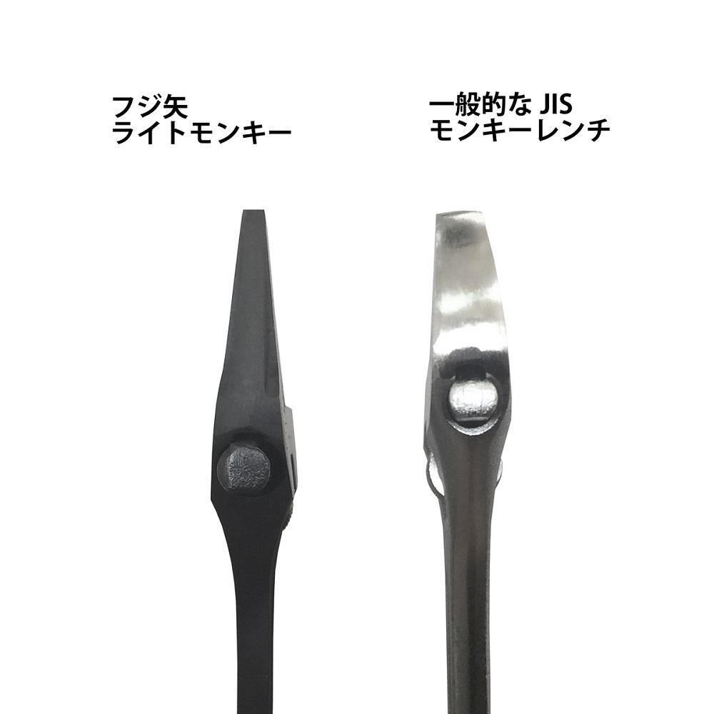 FUJIYA日本富士箭|黑金系列-大開口輕量活動板手43mm (FLA-43-BG)