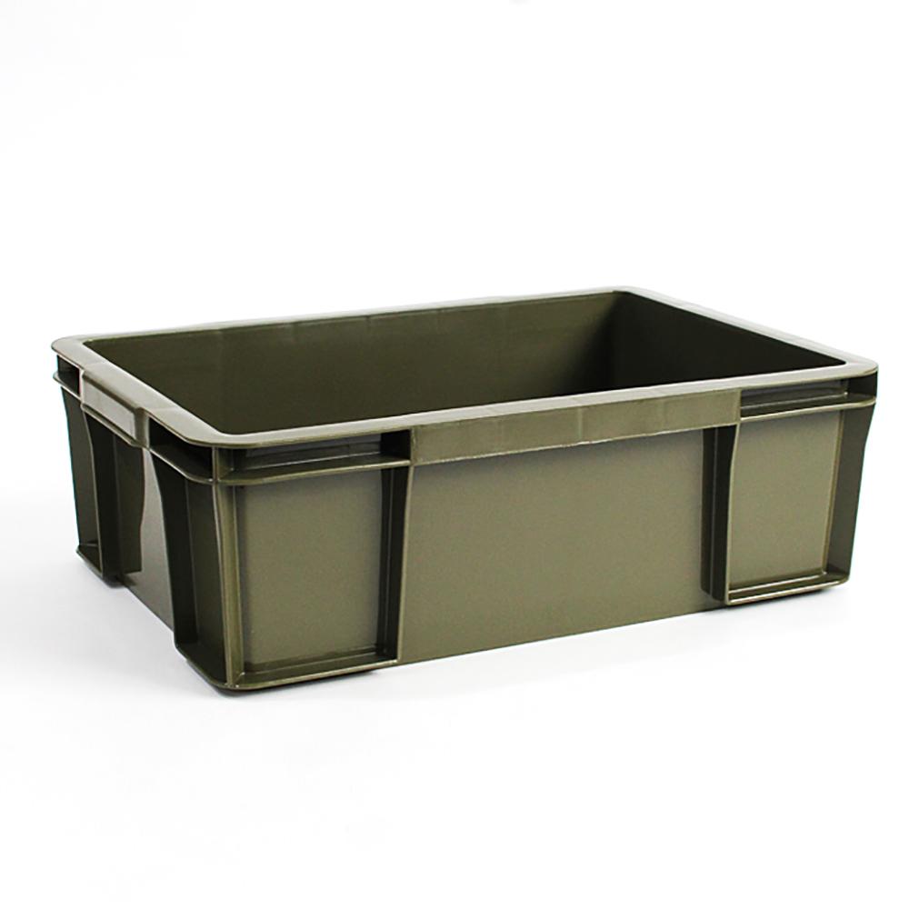 Trusco|塑膠收納盒(大)-墨綠