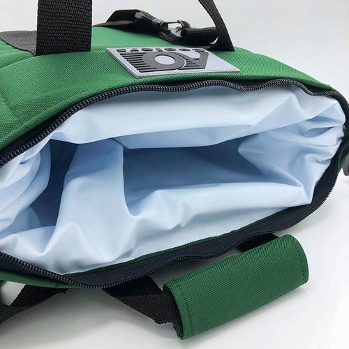 AO COOLERS|酷冷軟式輕量保冷托特包-6罐型 -經典帆布CANVAS系列 森林綠